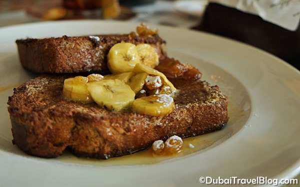 madeleine dubai french toast