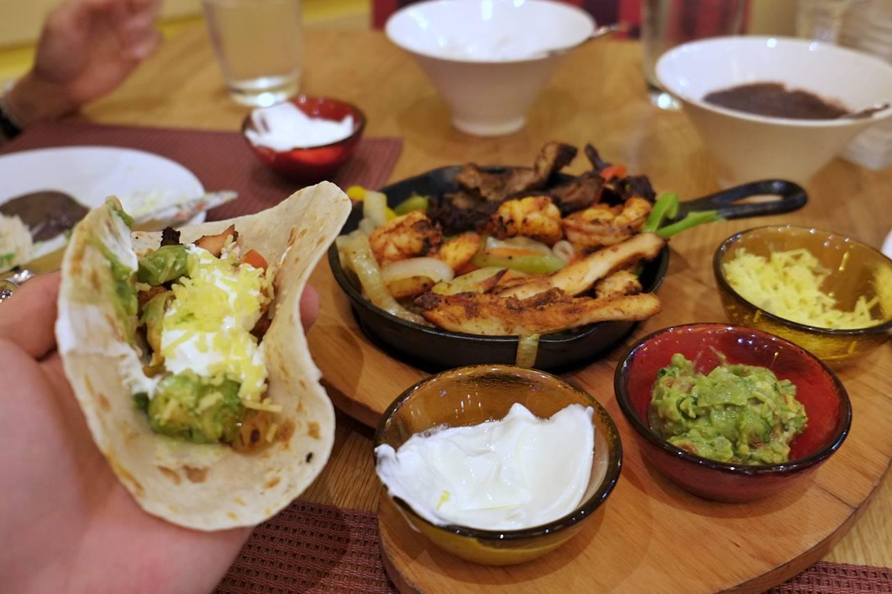 rosa mexicano restaurant dubai mall