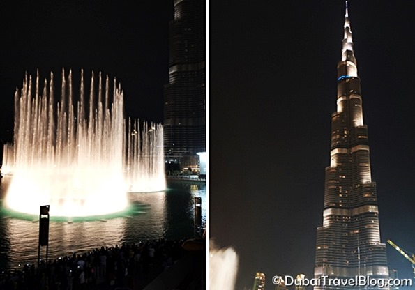 dubai fountain show