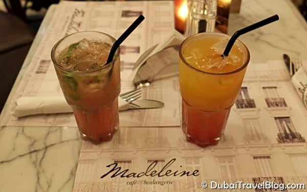 madeleine drinks