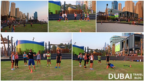crossfit at jumeirah beach residence