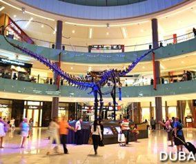 Dubai Dino: 155-Million-Year-Old Dinosaur in Dubai Mall