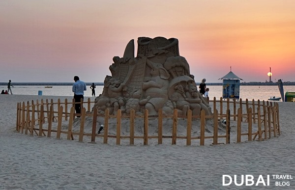 sand figures in jbr