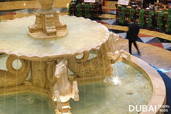 Mall of the Emirates water fountain