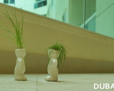 Dubizzle Ceramic Plant Hair Figurines