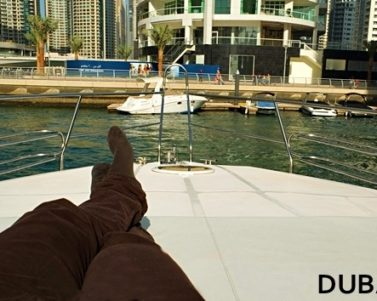 Tour of a Luxury Yacht in Dubai Marina