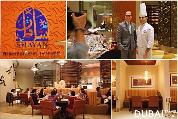 dubai shayan restaurant