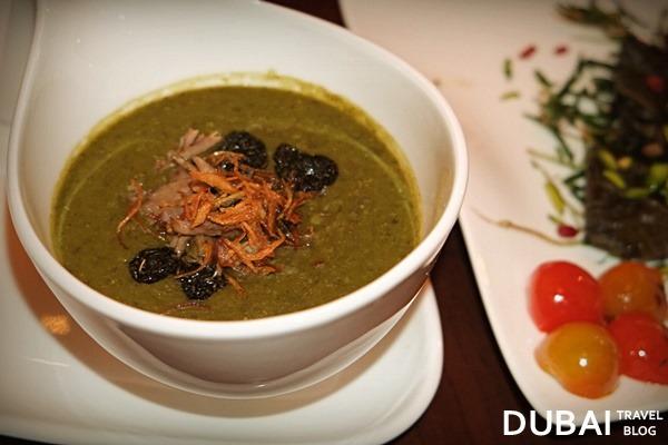 iranian thick soup shayan restaurant