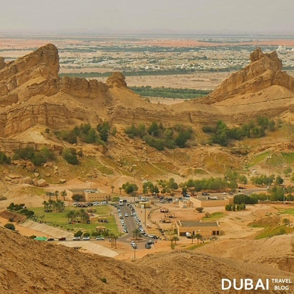 al ain city jebel hafeet view