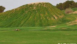 Green Mubazzarah Hot Springs in Al Ain City