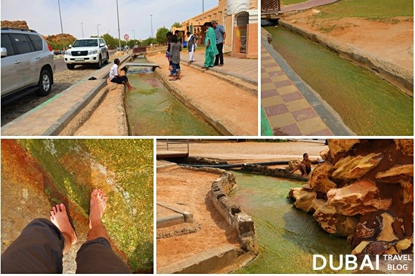 green mubazzarah hot springs