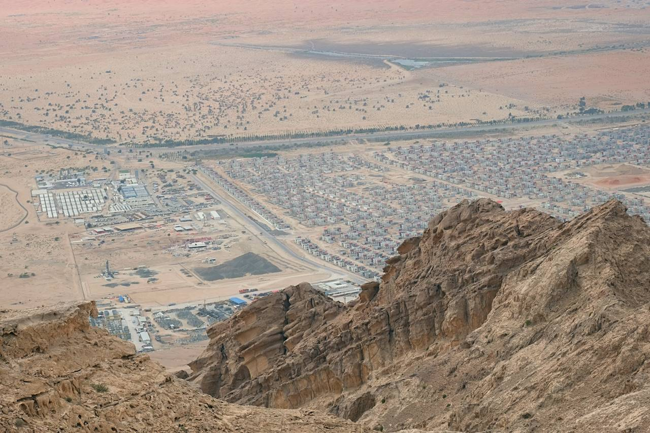 jebel hafeet view mountain