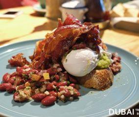 Breakfast at THE SUM OF US Restaurant in Dubai