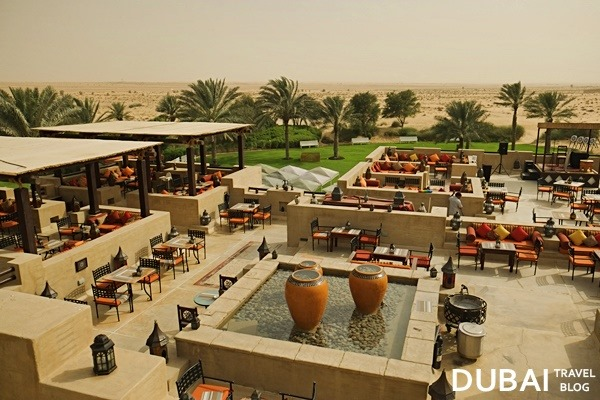 al sarab restaurant rooftop view
