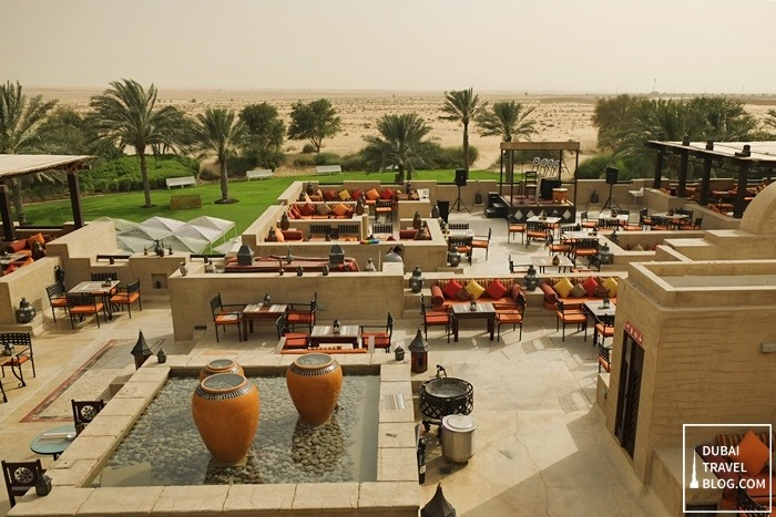 al sarab view overlooking the dubai desert