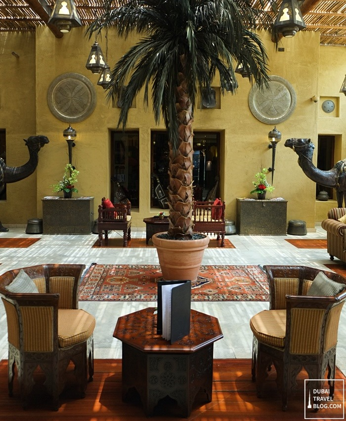 bab al shams lounge area