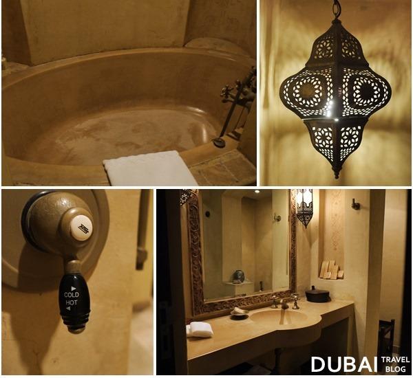 bathtub bab al shams resort dubai