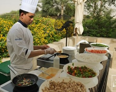 Breakfast & Lunch at Al Forsan Restaurant in Bab Al Shams