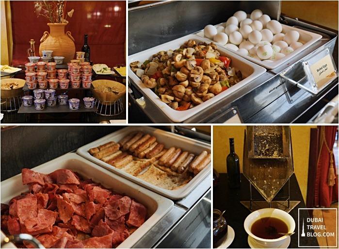 breakfast buffet bab al shams resort
