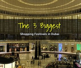 The 3 Biggest Shopping Festivals in Dubai