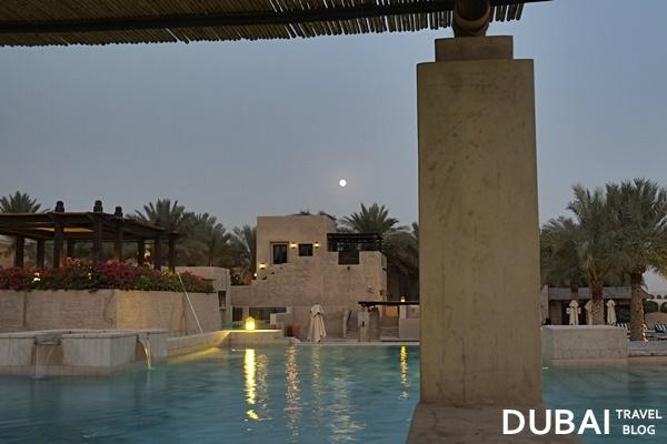 night pool bab al shams