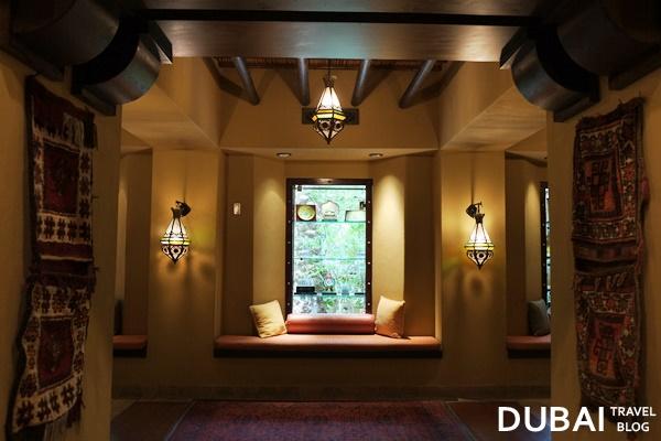 reception area bab al shams