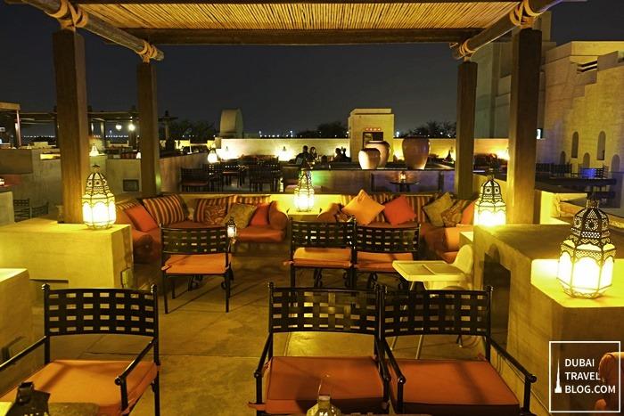 rooftop lounge desert resort