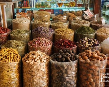 Visiting the Deira Spice Souk in Old Dubai