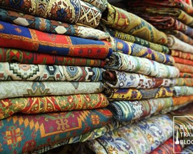 Textile Souk in Bur Dubai – Deira Creek Side