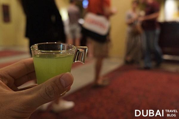 welcome drink in bab al shams