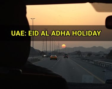 Eid Al Adha Break on September 2015