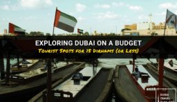 Exploring Dubai on a Budget of 15 AED (or Less)