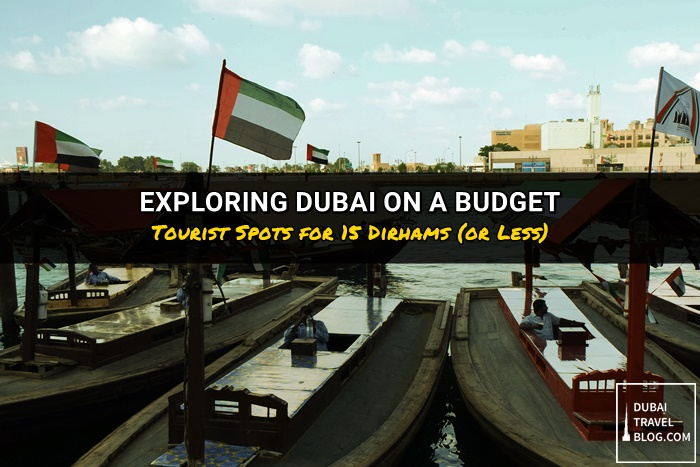 exploring dubai on a budget