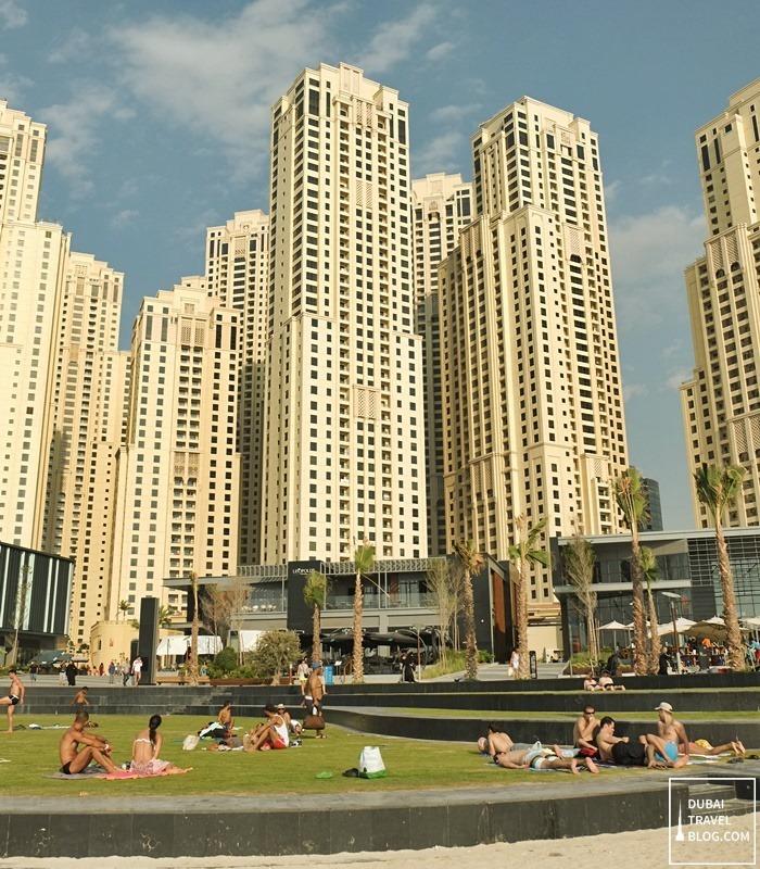 jumeirah open beach JBR