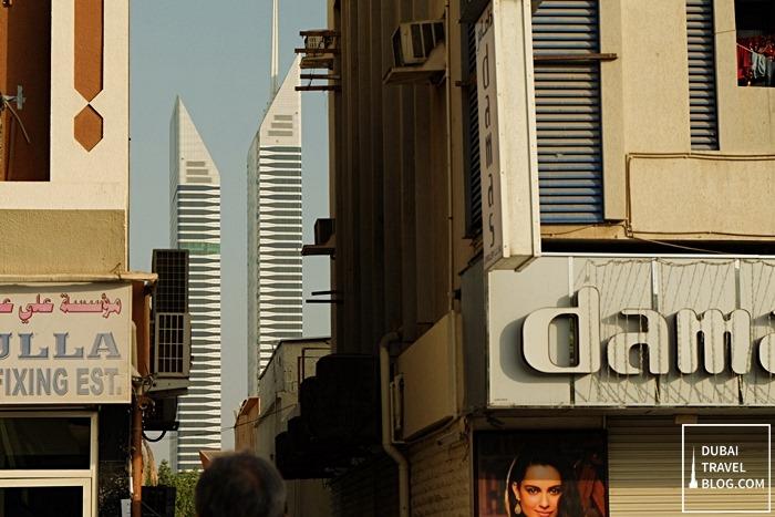 nassima towers from satwa