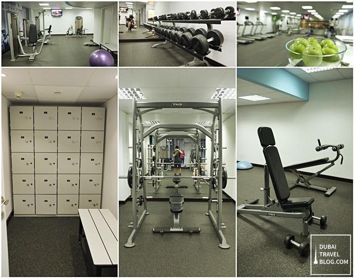 Burjuman Arjaan gym facility