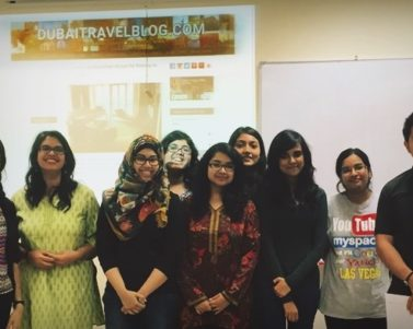 Short Open Lecture about Blogging in Manipal University Dubai