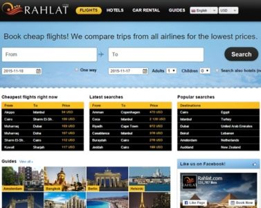 Rahlat.com: Compare Cheap Flights