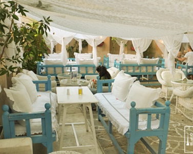 Arabian Tea House Outdoor Cafe in Al Bastakiya