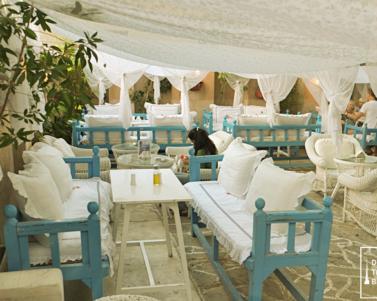 Arabian Tea House Outdoor Cafe in Al Bastakiya