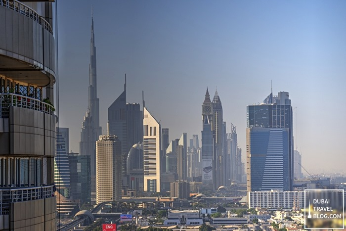 dubai skyline from burjuman arjaan