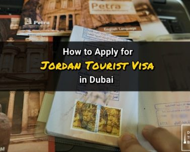 Jordan Tourist Visa Application Process in Dubai