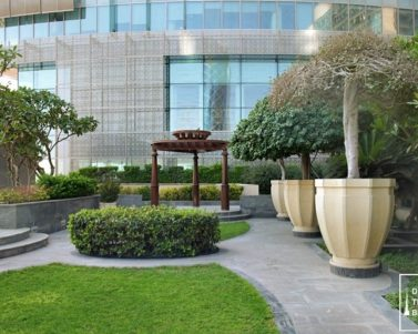 A Hidden Garden in Burjuman Arjaan by Rotana