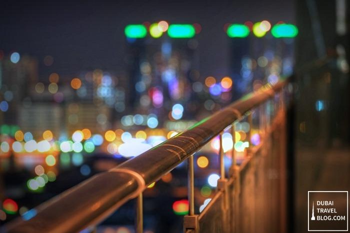 night dubai burjuman arjaan balcony