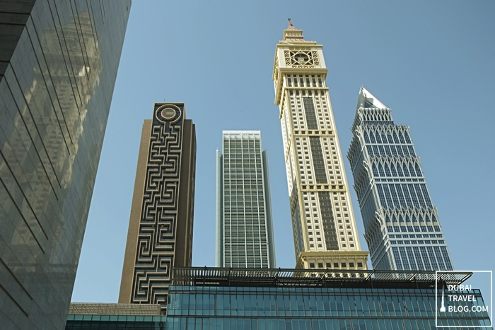 towers in sheikh zayed road