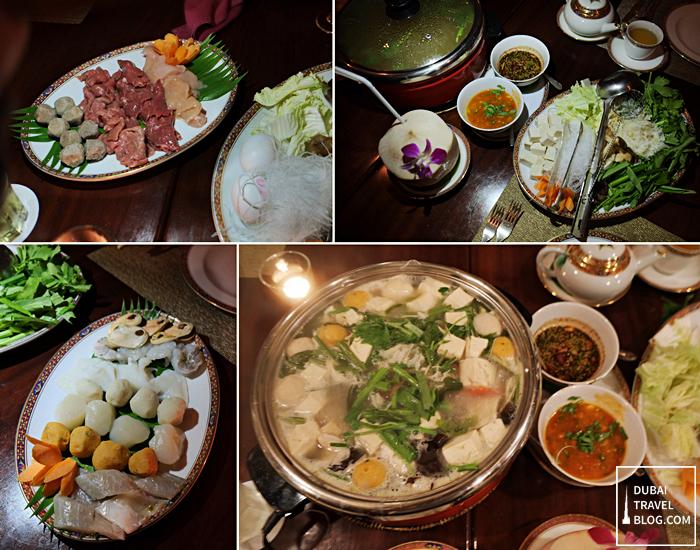 benjarong hotpot thai food