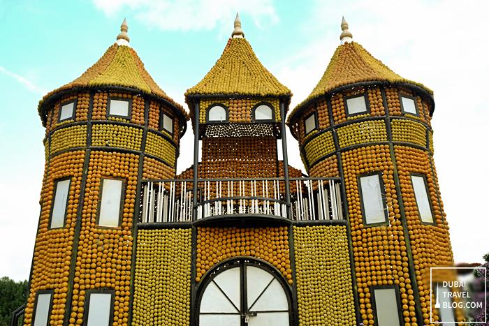 castle dubai miracle garden