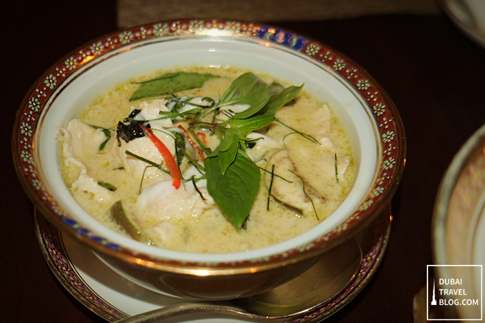 thai green curry benjarong