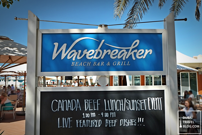 wavebreaker beach bar grill dubai