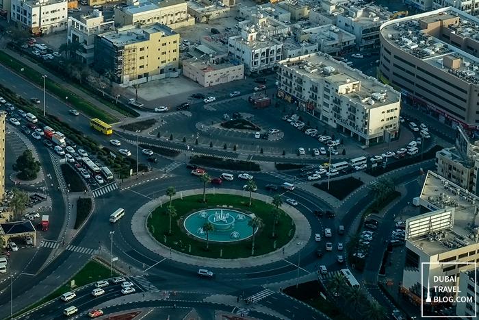 dubai aerial photo